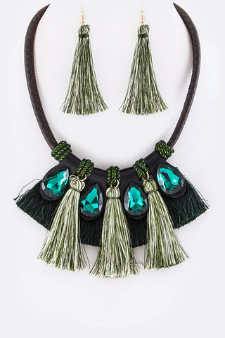 Tassel Dream Necklace Set
