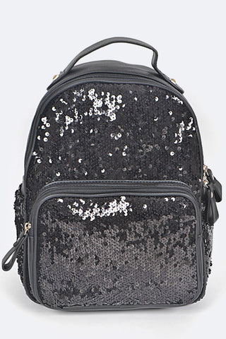 Sky Sequins Backpack
