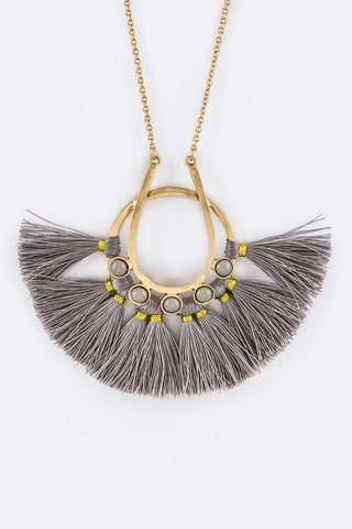 Tassel Wish Necklace