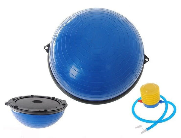Gym Balance Core Ball with Resistance Strap - PKsmartshopping