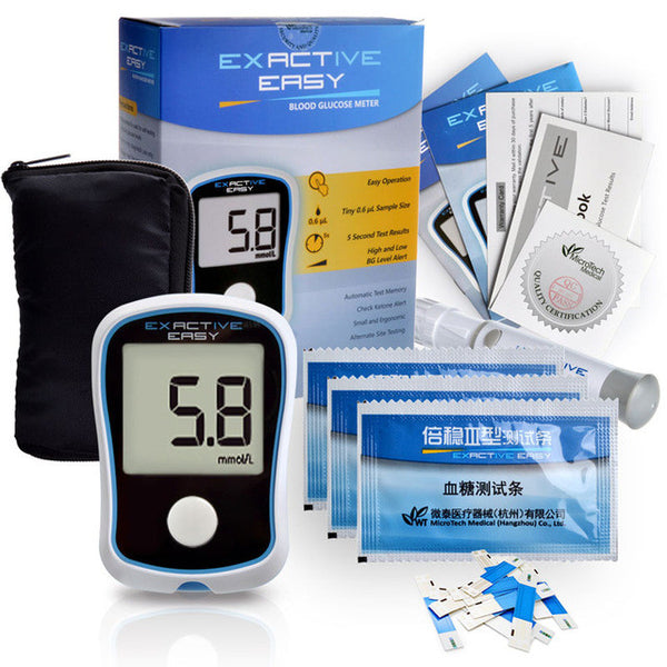 CE Blood Glucose Meters Monitor Diabetics Test - PKsmartshopping
