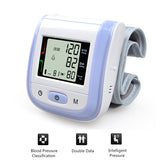 Health Care Automatic Wrist Blood Pressure Monitor Digital LCD Wrist Cuff Blood Pressure Meter Esfingomanometro Tonometer - PKsmartshopping