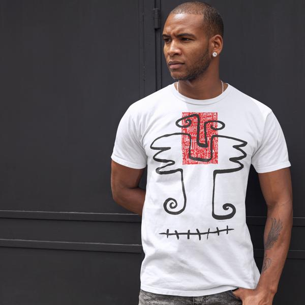 Victor Ekpuk, T-shirt, nsibidi, art wear