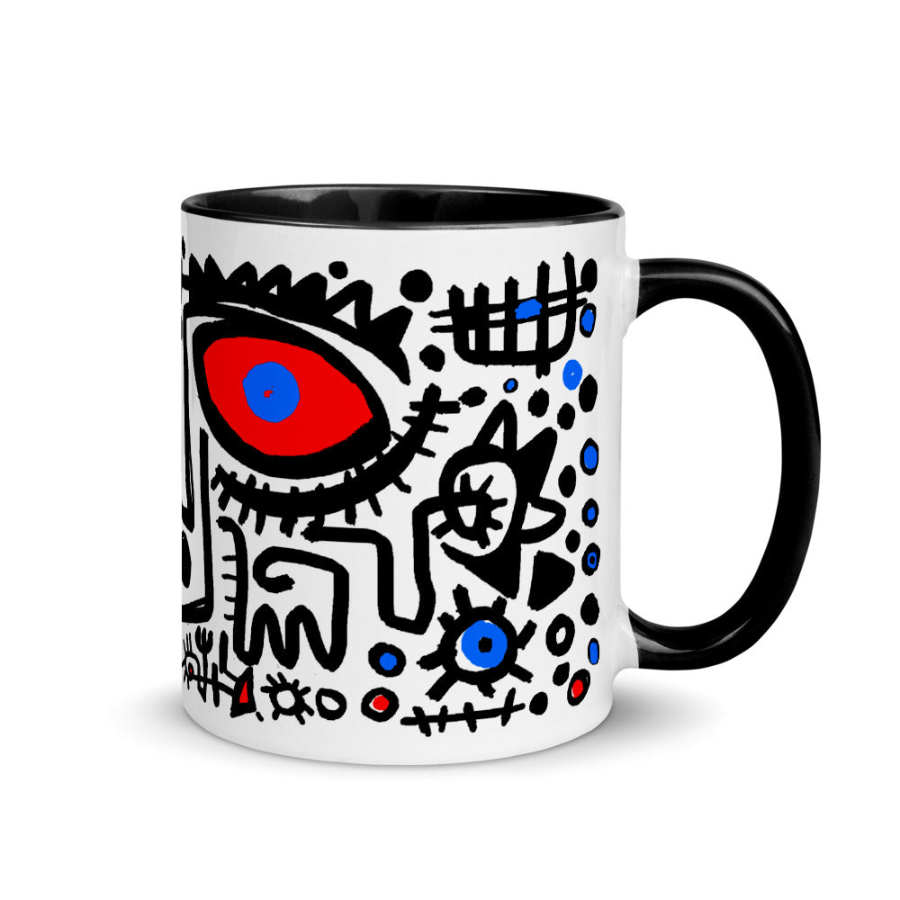 EYE SEE U Mug (color inside)