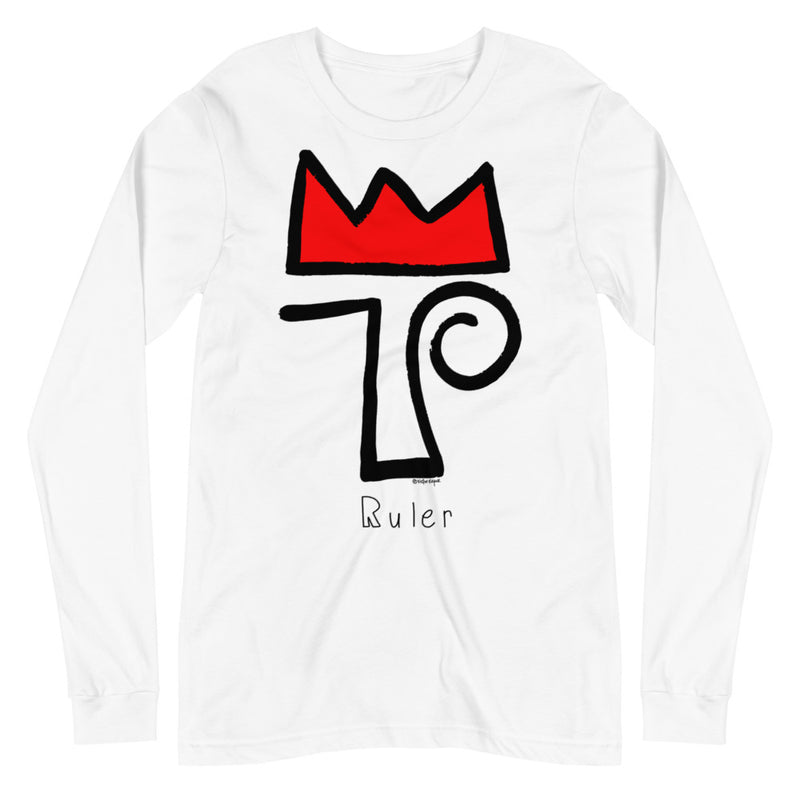 RULER Unisex Long Sleeve Tee