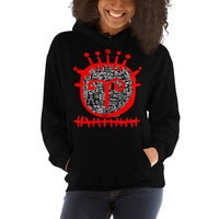 RED FACE 2 Unisex Hoodie