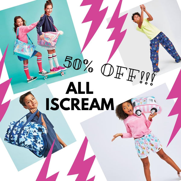 50% off ALL Iscream!! Boys & Girls