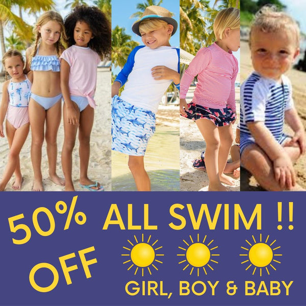 Baby, Boys & Girls SWIM 50% off Sale