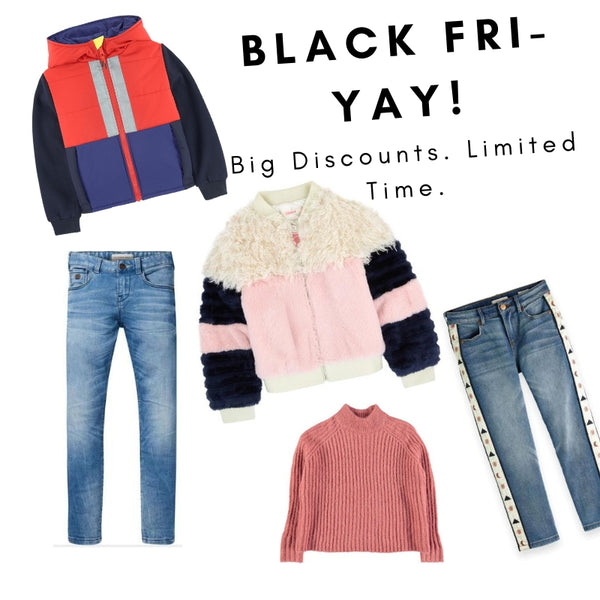 BLACK FRI-YAY Sale on All Weekend