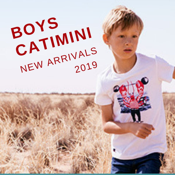 CATIMINI BOYS BRAND NEW SPRING 2019