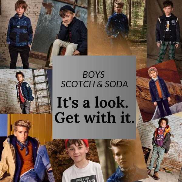 Boys Scotch & Soda Scotch Shrunk Fall 2019