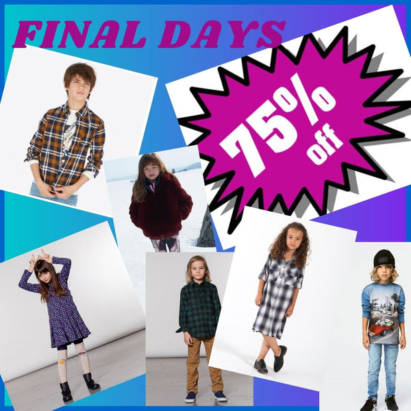 75% Off Childrens Designer Winter Collections