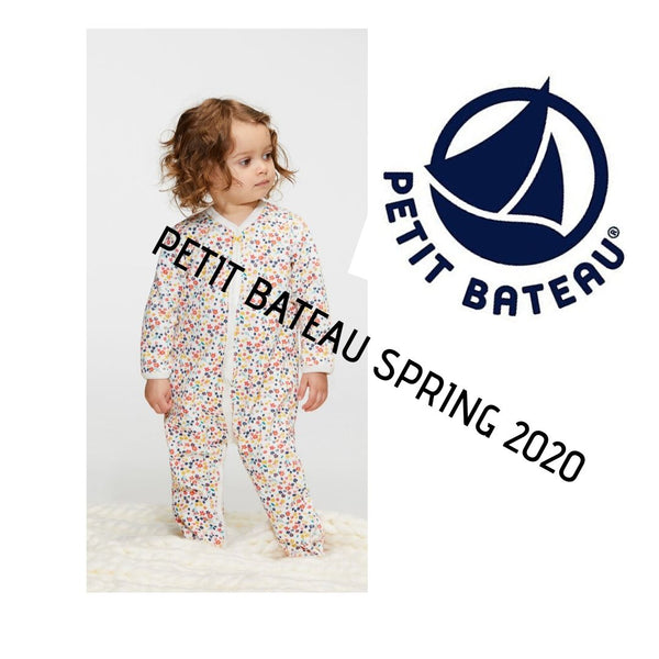 Petit Bateau Baby Spring 2020 Collections