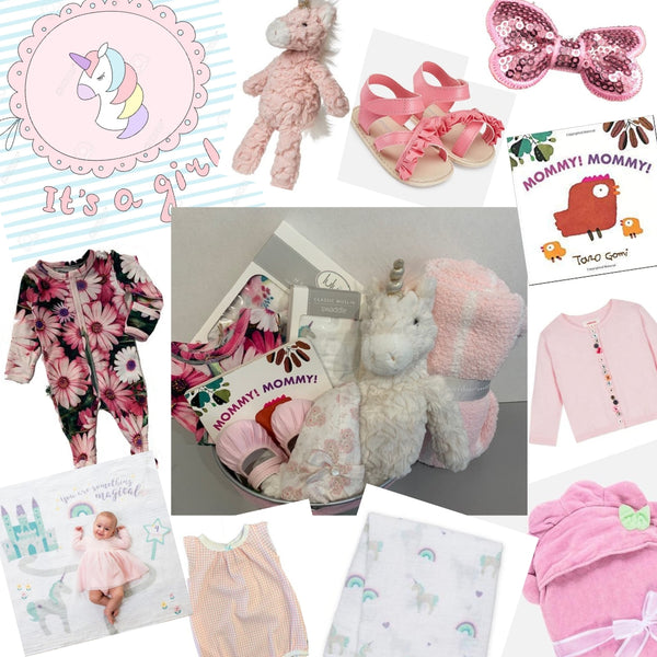 It's a Girl! Baby Shower & Sprinkle Gift Ideas