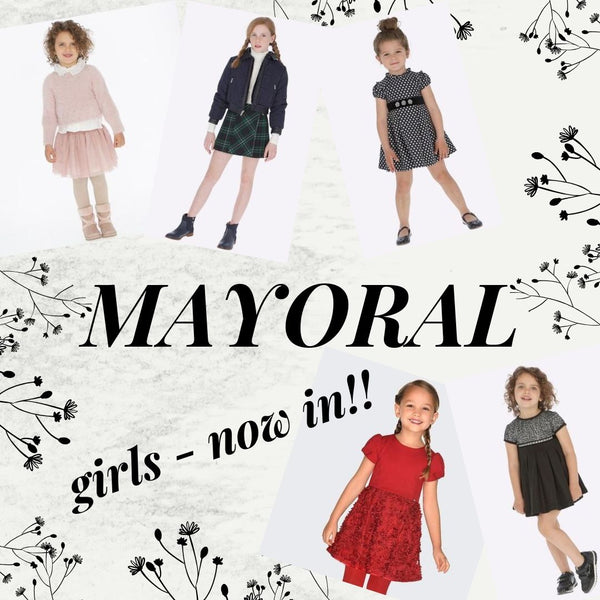 Girls Mayoral Fall 2019 Dresses & Sportswear