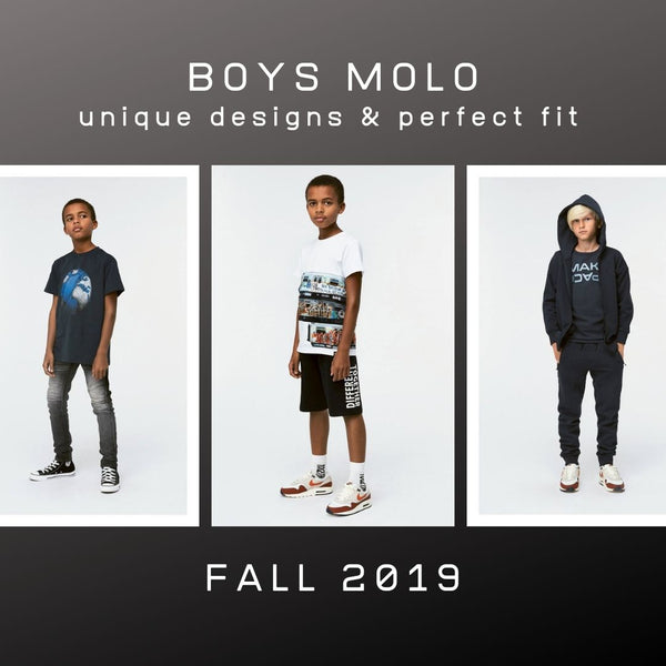 BRAND NEW - BEST OF BOYS MOLO FALL 2019