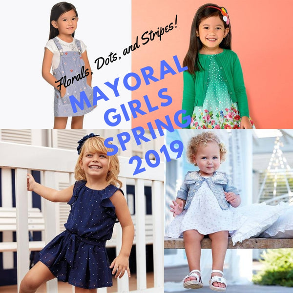 NEW MAYORAL - GIRLS SPRING DRESSES & MORE