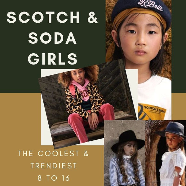 Girls Scotch and Soda Fall 2019 Collection