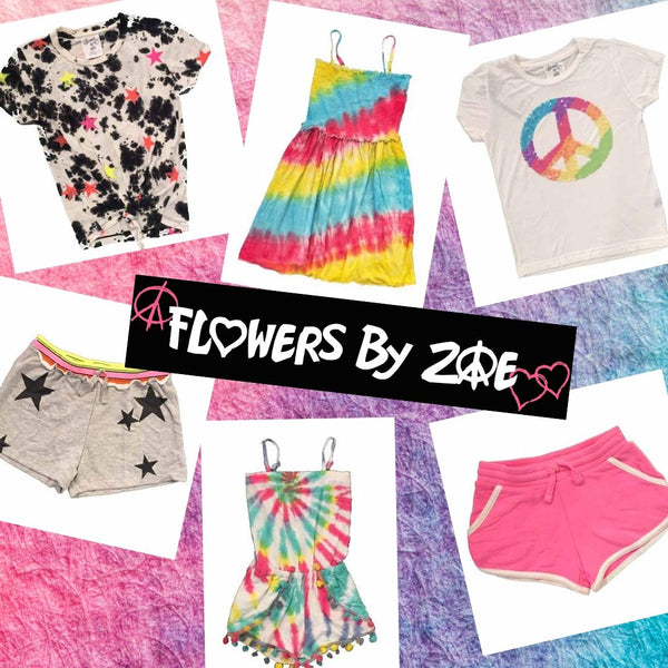 Wild for Tie Dye - NEW Flowers by Zoe!