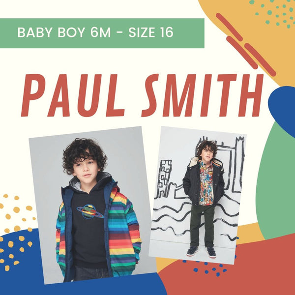 Boys Paul Smith Fall 2019 Collection