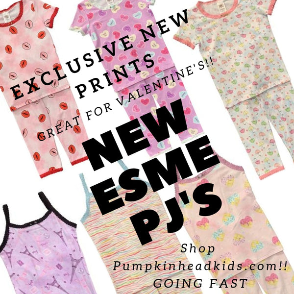 ESME GIRLS PAJAMAS new prints!!