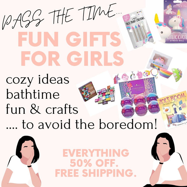GIRLS Quarantine Ideas - Crafts & More