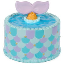 Authentic Slow Rising Silly Squishies Frosted Mermaid Cake