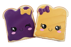 Authentic Silly Squishies Slow Rising PB&J