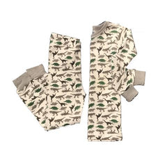 B steps boys dinosaur pajamas