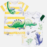 Baby Shower Boy Dinosaur Mayoral Outfit