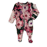 Baby Girl Baby Shower Gifts Inchworm Alley Floral Footie