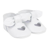 Baby Girl Baby Shower Lili Gaufrette White Shoes