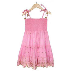 Bell Kids Smocked Pink Dress on Sale