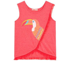 Billieblush Girls 50% off Toucan Graphic Tank Top Sale