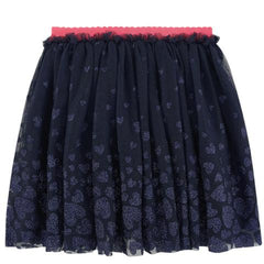 Billieblush metallic heart Navy Tutu