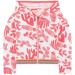 Billieblush Girls 50% off Terry Printed HOodie Summer Sweatshirt Sale