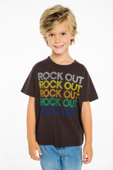 Chaser Boys Rock Out T Shirt