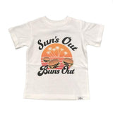 Kid Dangerous Suns our Buns out Boys Graphic T