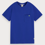 scotch and soda boys royal blue t shirt 50% off