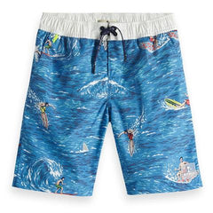 Boys Scotch and Soda Swim Trunks on Sale