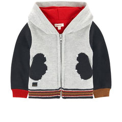 Catimini Baby Boy Fleece Sweater Jacket