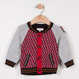 Catimini Baby Boy Red Printed Sweater