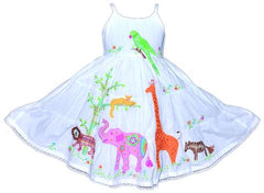 Cotton Kids Girls Safari Dress on sale
