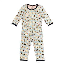 Esme Girls Pajamas Long Sleeve Emoji