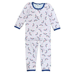 Esme Girls Pajamas Long Sleeve Rainbow