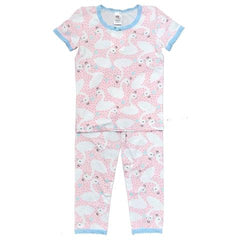 Esme Girls Short Sleeve Pajama Swans