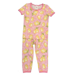 Esme Short Sleeve Pajama Lemon