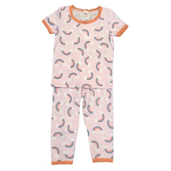esme Short sleeve pajama rainbow