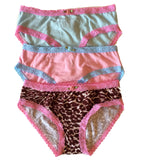 Esme Cheetah Print Girls Panties