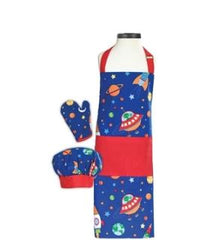 Handstand Kitchen Outer Space Apron Set